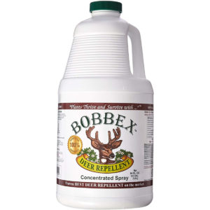 64 oz bottle of bobbex deer repellent