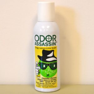 odor assassin (lemon lime).