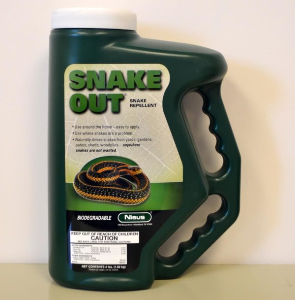 snake out repellent.