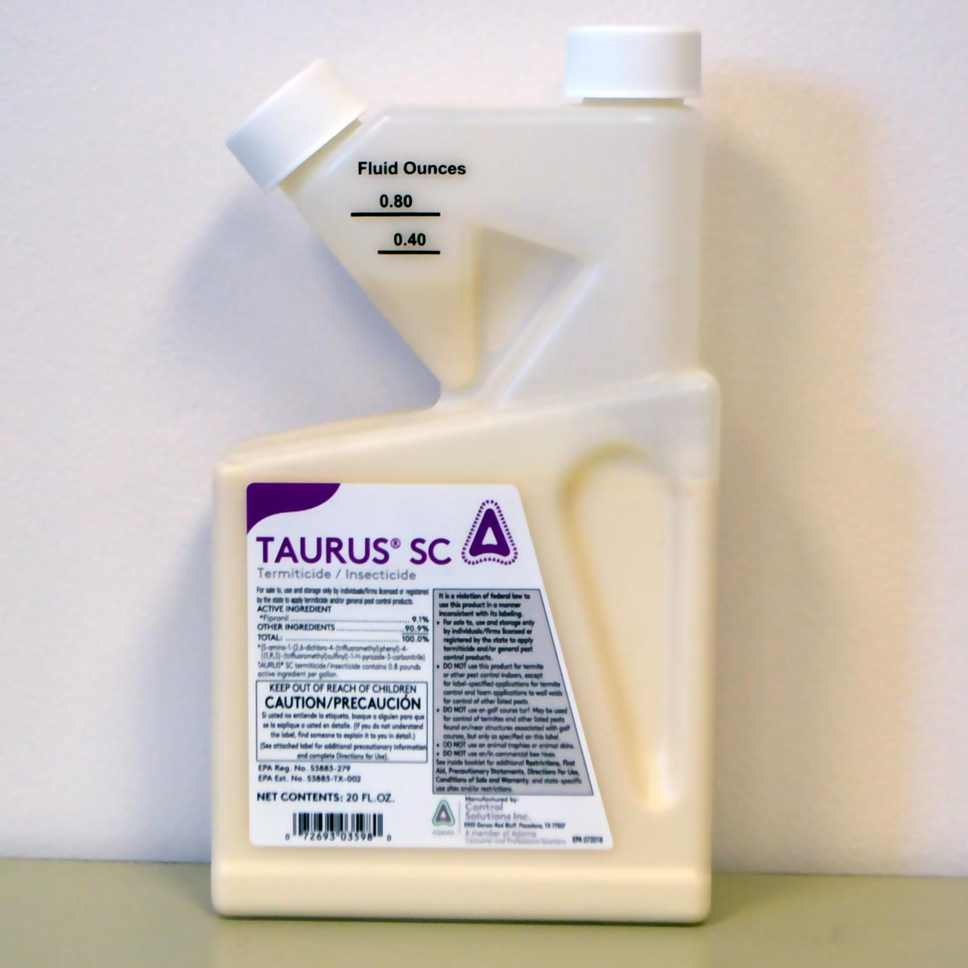 Taurus SC Insecticide (20 Oz). For Termites, Ants, And